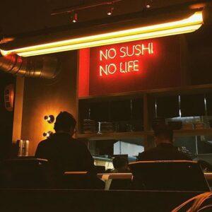Monster Sushi barra