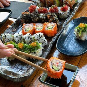 variedades sushi