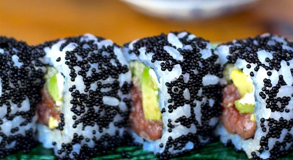 sushi - auacate